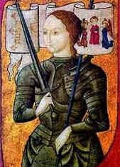 Жанна ДАрк не была сожжена на костре