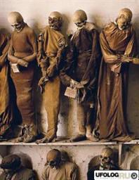 Трупы сохранились не идеально: у некоторых остался нос или часть щеки