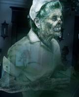 Призрак медсестры срывает бинты с больных и отключает аппаратуру