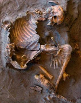 В ливийской пустыне найдено 20 скелетов людей каменного века