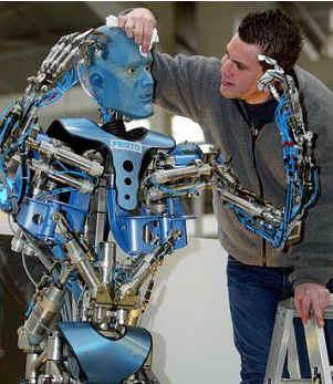 Немецкий робот подтверждает пророчество Нострадамуса гаджет