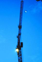 Москвич случайно сфотографировал НЛО, пролетающий над стройкой (фото)