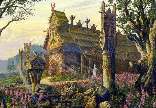 Москва построена на древнем капище