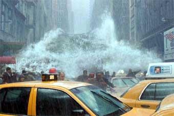 Население планеты привлекают к проверке достоверности фильма Послезавтра