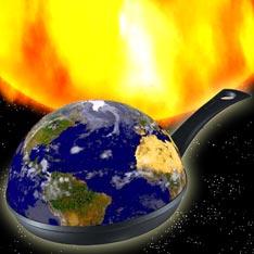 Земля превращается в большую сковородку
