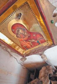 Богородица сошла с небес, спасая жителей Цхинвали