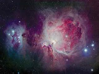 США: большая туманность в созвездии Ориона