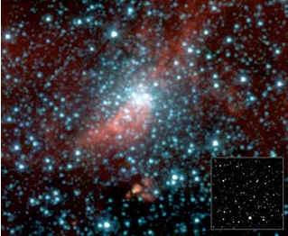 США: уникальное фото звездного скопления-невидимки